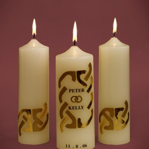 Wedding-Candles-Golden-Design-Ivory
