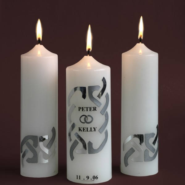 Weddings-Candles-Silver-Design